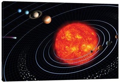 Solar System I Canvas Art Print