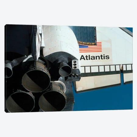 Space Shuttle Atlantis Canvas Print #TRK1657} by Stocktrek Images Canvas Wall Art