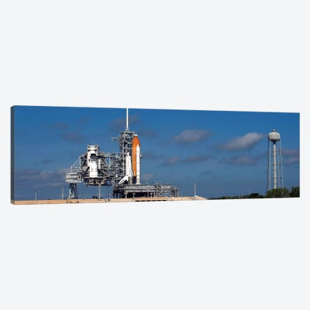 Space Shuttle Discovery Sits Ready On The Launch Pad At Kennedy Space Center Canvas Print #TRK1674} by Stocktrek Images Canvas Artwork