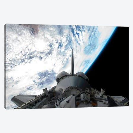 Space Shuttle Endeavour's Payload Bay Canvas Print #TRK1689} by Stocktrek Images Canvas Art