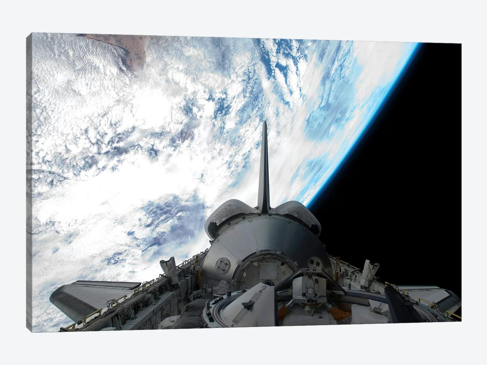 Space Shuttle Endeavour's Payload Bay by Stocktrek Images 1-piece Canvas Art
