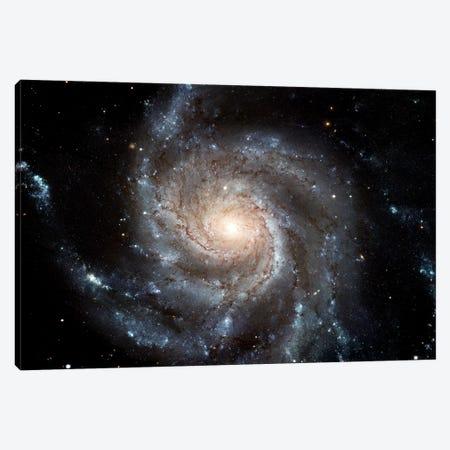 Spiral Galaxy (M101) Canvas Print #TRK1692} by Stocktrek Images Canvas Art Print