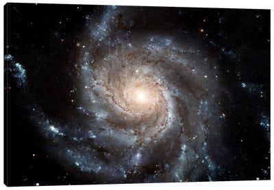 Spiral Galaxy (M101) Canvas Art Print