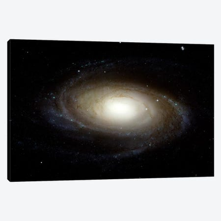 Spiral Galaxy (M81) 3-Piece Canvas #TRK1693} by Stocktrek Images Canvas Print