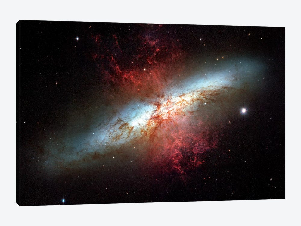 Starburst Galaxy, (M82) by Stocktrek Images 1-piece Art Print