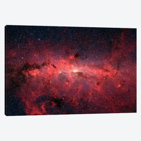 The Center Of Our Milky Way Galaxy II Canvas Print #TRK1712} by Stocktrek Images Canvas Art