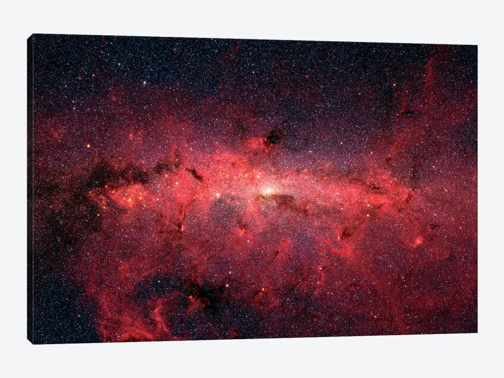 The Center Of Our Milky Way Galaxy II by Stocktrek Images 1-piece Art Print
