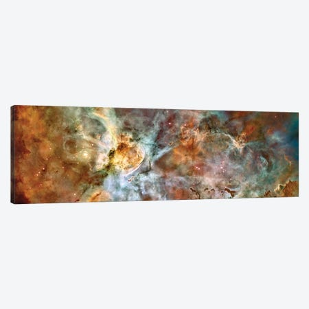 The Central Region Of The Carina Nebula Canvas Print #TRK1713} by Stocktrek Images Canvas Art