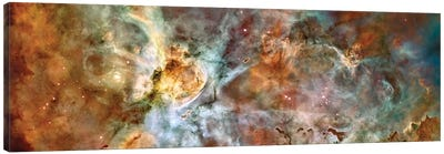 The Central Region Of The Carina Nebula Canvas Art Print