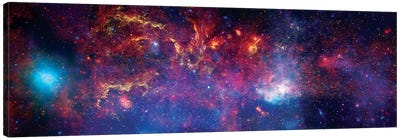 The Central Region Of The Milky Way Galaxy Canvas Art Print