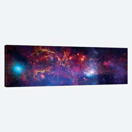 The Central Region Of The Milky Way Galaxy Canvas Print #TRK1714} by Stocktrek Images Art Print