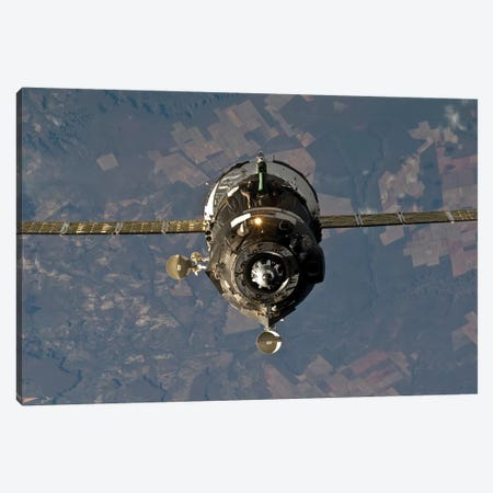 The Soyuz TMA-19 Spacecraft Canvas Print #TRK1740} by Stocktrek Images Canvas Art Print