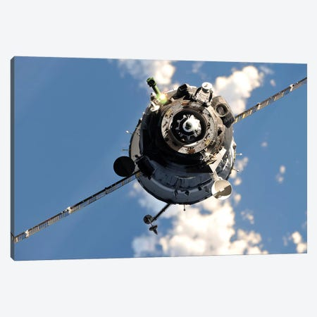 The Soyuz TMA-20 Spacecraft Canvas Print #TRK1741} by Stocktrek Images Canvas Art Print
