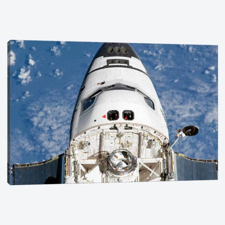 View Of Space Shuttle Endeavour's Crew Cabin And Forward Payload Bay Canvas Print #TRK1761} by Stocktrek Images Art Print