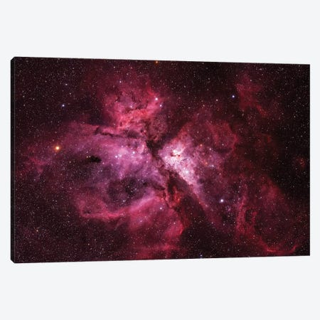 The Carina Nebula (NGC 3372) Canvas Print #TRK1770} by Yuri Zvezdny Canvas Wall Art