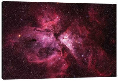 The Carina Nebula (NGC 3372) Canvas Art Print