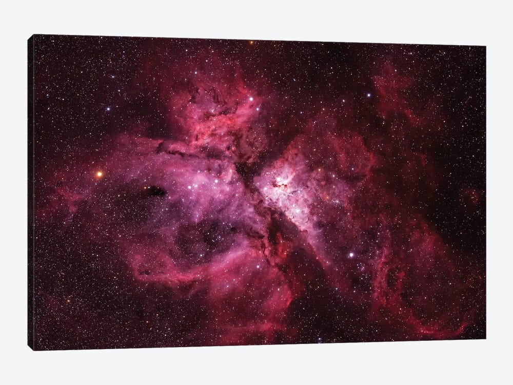 The Carina Nebula (NGC 3372) by Yuri Zvezdny 1-piece Canvas Print