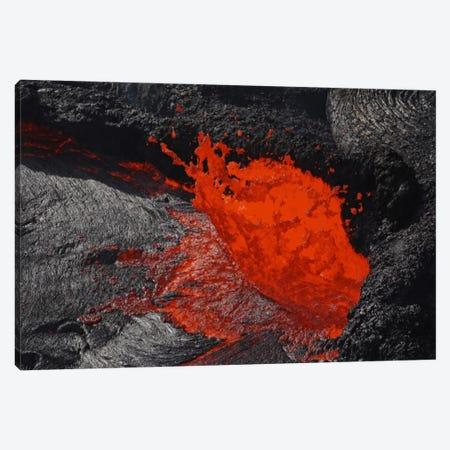 Erta Ale Fountaining Lava Lake, Danakil Depression, Ethiopia I Canvas Print #TRK1774} by Martin Rietze Art Print