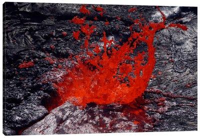 Erta Ale Fountaining Lava Lake, Danakil Depression, Ethiopia II Canvas Art Print