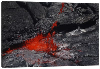 Erta Ale Fountaining Lava Lake, Danakil Depression, Ethiopia III Canvas Art Print