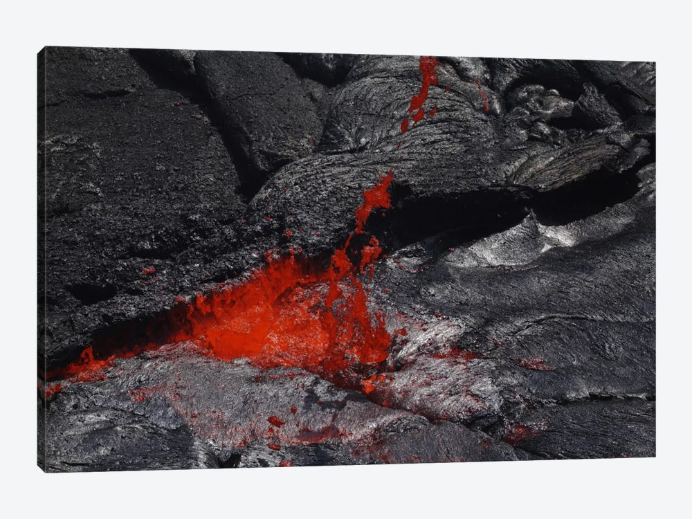 Erta Ale Fountaining Lava Lake, Danakil Depression, Ethiopia III by Martin Rietze 1-piece Canvas Print