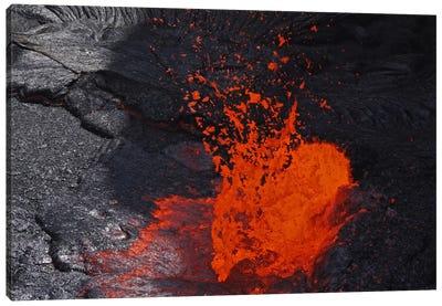 Erta Ale Fountaining Lava Lake, Danakil Depression, Ethiopia IV Canvas Art Print