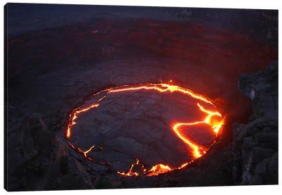 Erta Ale Lava Lake, Danakil Depression, Ethiopia I Canvas Art Print