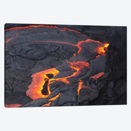 Erta Ale Lava Lake, Danakil Depression, Ethiopia II Canvas Print #TRK1779} by Martin Rietze Canvas Art