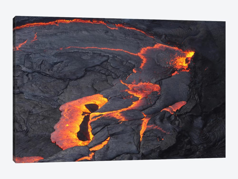 Erta Ale Lava Lake, Danakil Depression, Ethiopia II 1-piece Canvas Art