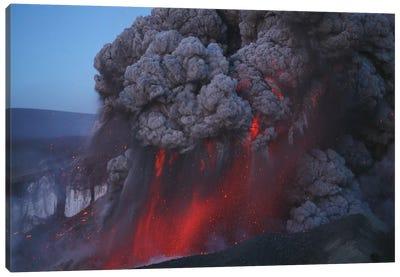 Eyjafjallajökull Eruption, Summit Crater, Iceland II Canvas Art Print