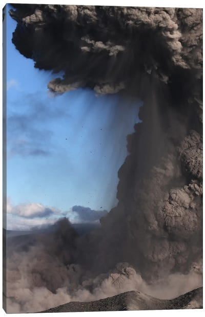 Eyjafjallajökull Eruption, Summit Crater, Iceland IV Canvas Art Print