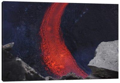 Fimmvörduháls Lava Flow, Eyjafjallajökull, Iceland II Canvas Art Print