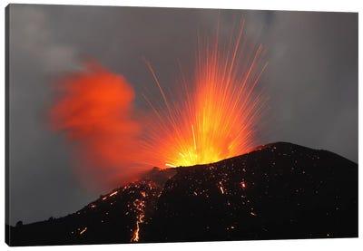 Krakatau Eruption, Sunda Strait, Indonesia I Canvas Art Print