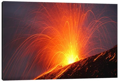 Krakatau Eruption, Sunda Strait, Indonesia III Canvas Art Print