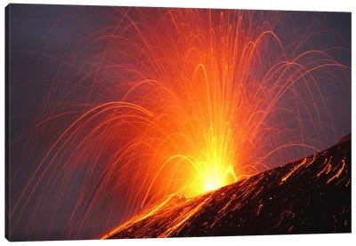 Krakatau Eruption, Sunda Strait, Indonesia III Canvas Art Print