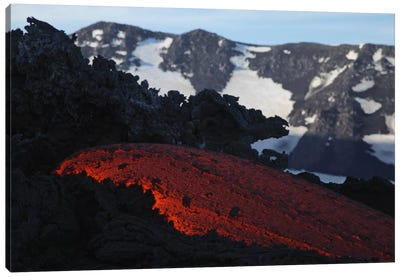 Mount Etna Lava Flow, Sicily, Italy Canvas Art Print