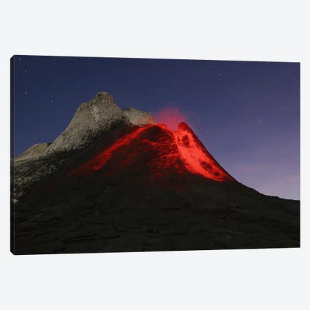 Ol Doinyo Lengai Eruption, Rift Valley, Tanzania Canvas Print #TRK1807} by Martin Rietze Canvas Print