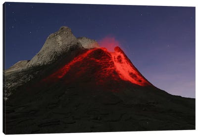 Ol Doinyo Lengai Eruption, Rift Valley, Tanzania Canvas Art Print
