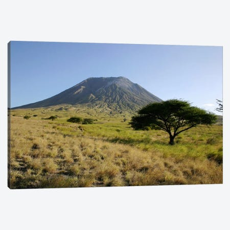 Ol Doinyo Lengai, Rift Valley, Tanzania Canvas Print #TRK1808} by Martin Rietze Canvas Artwork