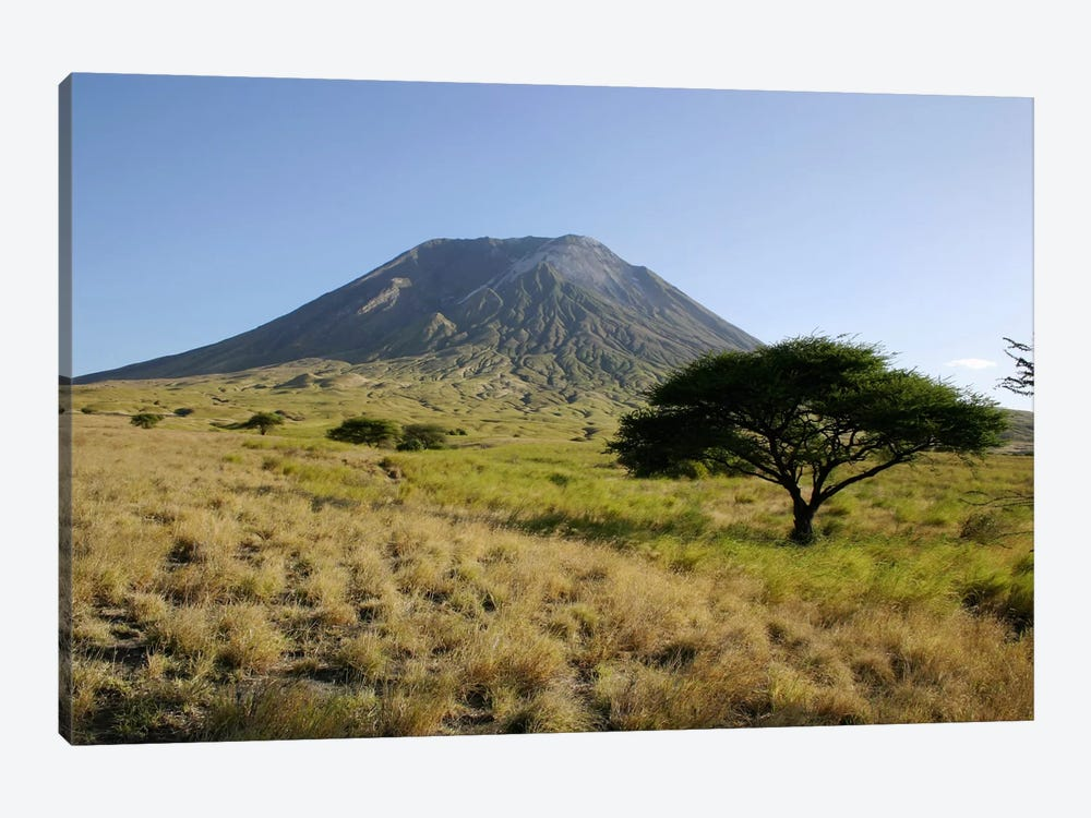 Ol Doinyo Lengai, Rift Valley, Tanzania by Martin Rietze 1-piece Canvas Artwork