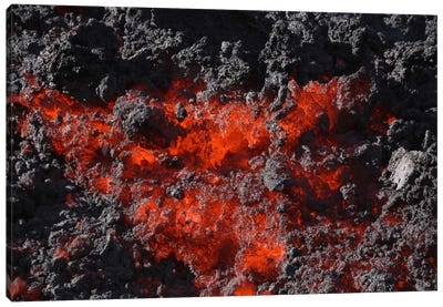 Pacaya Lava Flow, Guatemala Canvas Art Print