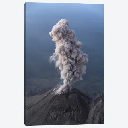 Santiaguito Ash Eruption, Guatemala I Canvas Print #TRK1812} by Martin Rietze Canvas Art Print