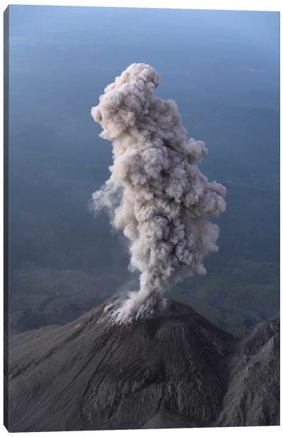 Santiaguito Ash Eruption, Guatemala I Canvas Art Print