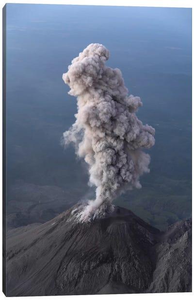 Santiaguito Ash Eruption, Guatemala I Canvas Art Print