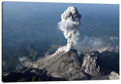 Santiaguito Ash Eruption, Guatemala II Canvas Art Print