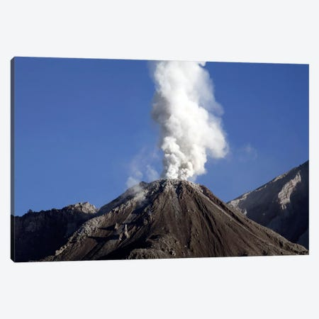 Santiaguito Eruption, Guatemala Canvas Print #TRK1814} by Martin Rietze Canvas Artwork