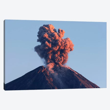 Semeru Eruption, Java Island, Indonesia I Canvas Print #TRK1815} by Martin Rietze Canvas Artwork