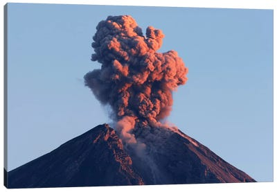 Semeru Eruption, Java Island, Indonesia I Canvas Art Print
