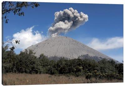 Semeru Eruption, Java Island, Indonesia II Canvas Art Print