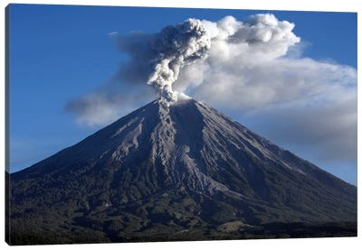 Semeru Eruption, Java Island, Indonesia III Canvas Art Print